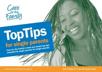 Top Tips for Single Parents (PDF) - Care for the Family