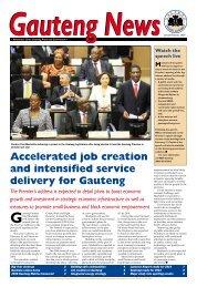 January - February 2009 - Gauteng Online