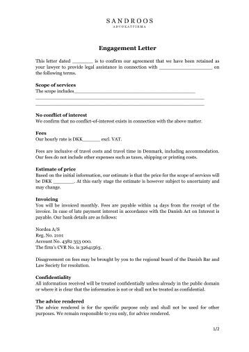 Engagement letter ecochemics letter of engagement professional huntley legal sca engagement letter for 2013 personal tax returns spiritdancerdesigns Image collections