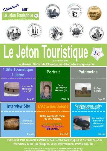 Le Jeton Touristique N°55 - Jetons touristiques de la Monnaie de Paris