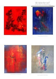 Bilderbrief Nr. 7 - April 2008: (PDF, 109 kB) - Ölbilder Gotthard Krupp