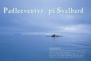 10-14 Padling på Svalbard - Friluftsliv