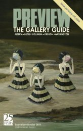 Preview | The Gallery Guide | September-October 2011