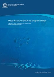 Water quality monitoring program design : a guideline to the ...