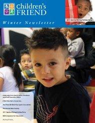 Winter 2012 Newsletter - Children's Friend