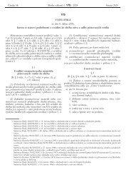 Vyhláška č. 175/2004 Sb., kterou se stanoví podrobnosti o uvádění ...