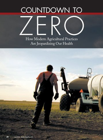 Countdown to Zero: How Modern Agricultural ... - Drucker Labs