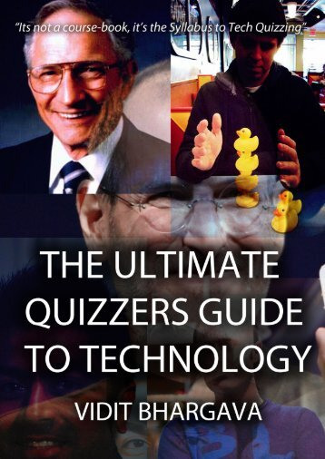 The Ultimate Quizzer's Guide To Technology - mvdit tech book
