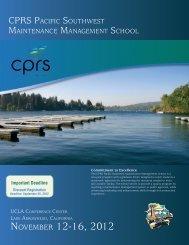 NOVEMBER 12-16, 2012 - California Park and Recreation Society