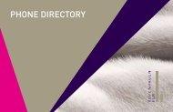 Phone directory for Kopenhagen Fur