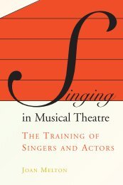 Singing in Musical Theater - bonnersferryperformingarts
