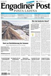 Engadiner Post Nr. 038 vom 29. März 2012