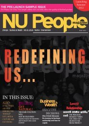 Magazine (Issue 1) A5.indd - NU People Magazine