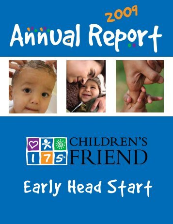 Early Head Start - Children's Friend