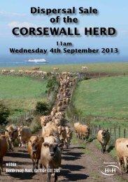 CORSEWALL HERD - Harrison & Hetherington
