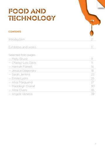 Top Designs - Food Tech - 2011 - Home