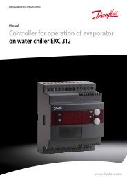 Controller for operation of evaporator - Berling