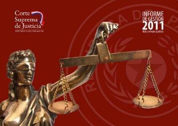 Bajar Informe 2011 - Poder Judicial