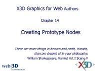 slides - Extensible 3D Graphics for Web Authors