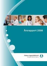 Årsrapport 2008 - Statens legemiddelverk