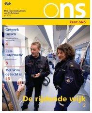 kent oNS De rijdende wijk - Machinistlog.nl