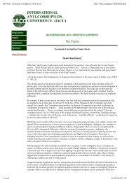 Economic Corruption: Some Facts - International Anti-Corruption ...