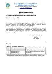 Javna obravnava predloga za ukinitev - Gore-ljudje