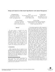 Design and Analysis of a Rate-based Algorithm for ... - IEEE Xplore