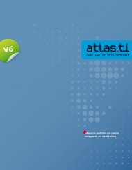 Product brochure (PDF, English) (2 MB) - ATLAS.ti