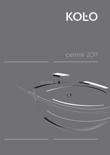 Cennik KOLO 2011.indb - Arma - San