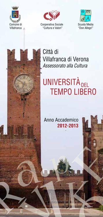 UNIVERSITÀ TEMPO LIBERO - Home Page   Informagiovani