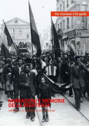 Narrazioni e memorie della resistenza - Biblioteca Gambalunga