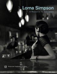 Lorna Simpson - American Federation of Arts