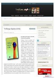 Recensione libro Volfango dipinto di blu di Elvio ... - Miraggi Edizioni