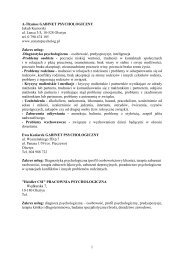 1 A-Thymos GABINET PSYCHOLOGICZNY Jakub Kusiorski ul ...