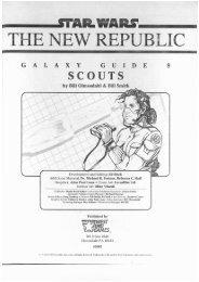 WEG40061 - Star Wars D6 - Galaxy Guide 8 - Scouts.pdf - Baykock