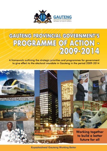 Government's Programme of Action - Gauteng Online