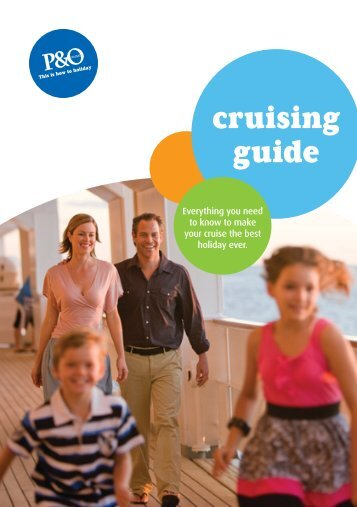 cruising guide - P&O Cruises