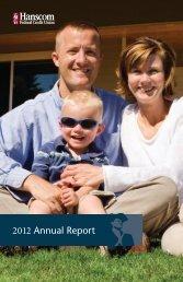2012 Annual Report - Hanscom Federal Credit Union