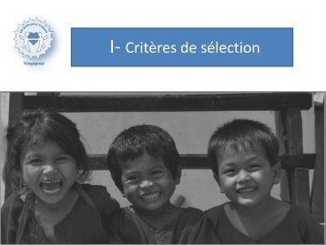 Notre action 2012/2013 a permis de financer