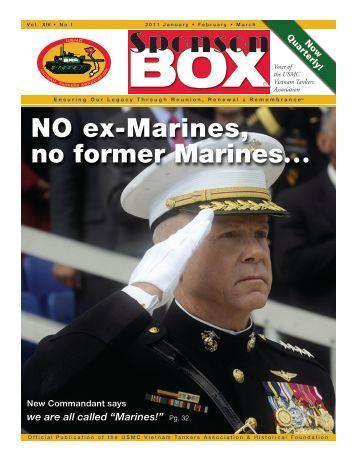 2011 1st Issue - USMC Vietnam Tankers Association