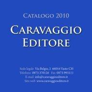Catalogo libri in pdf - Caravaggio Editore