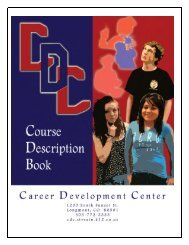 Course Description Book - Career Development Center