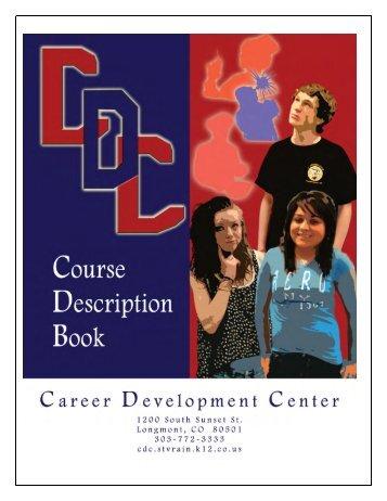 Course Description Book - Career Development Center