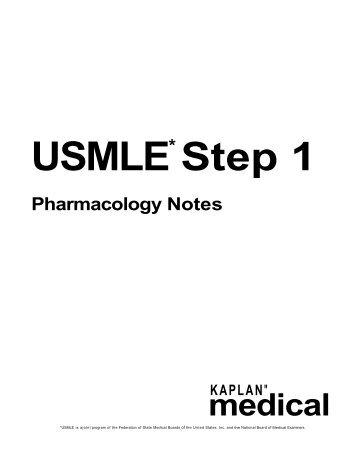 usmle-pharmacology