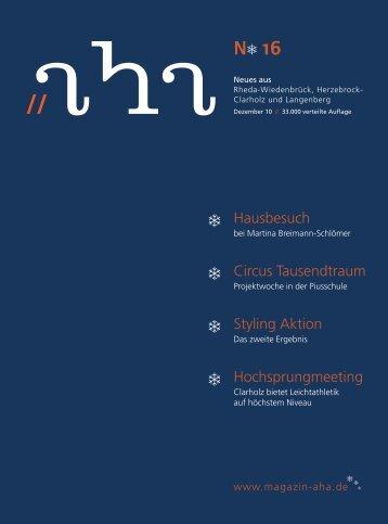 silvester 2010 - aha-Magazin