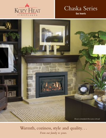 Chaska Series - Matchless Stove and Chimney