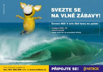 SVEZTE SE NA VLNĚ ZÁBAVY! - Netbox