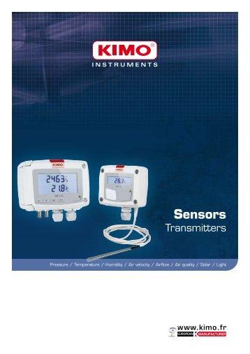 Sensors Transmitters - Kimo Canada