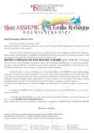 modulo d'iscrizione - Associazione Sclerosi Tuberosa